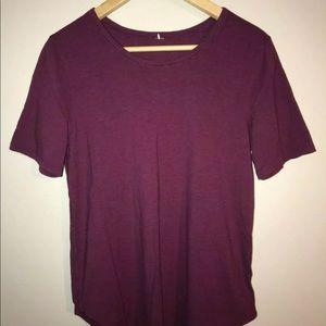 Lululemon Berry T shirt